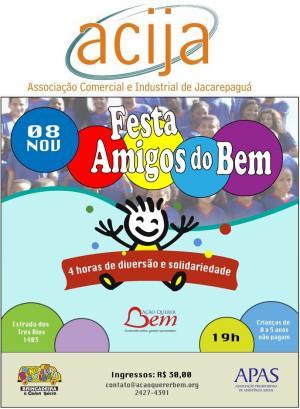 Festa Amigos do Bem.
