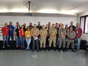 Reunião do PAM Bombeiro outubro/2019.