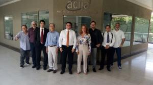Reunião da Diretoria da ACIJA.