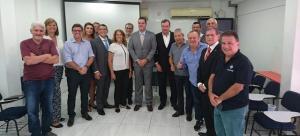 Texto da Acija -  Secretária de Governo e Acija procuram viabilizar parceria para implantação da Operação Sociedade Segura.