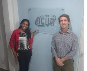 ACIJA Recebe nova associada da Produtora Folha Casting.