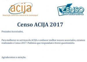 Censo Empresarial ACIJA 2017