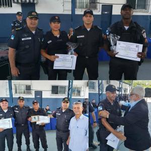 Policiais do 18° BPM recebem Premiação dos Destaques do 4° Trimestre de 2019.