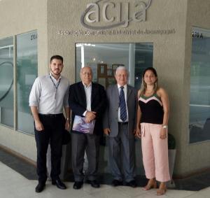 ACIJA recebe a visita dos representantes do CIEE RIO.