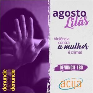 Agosto é o Mês de Conscientização Contra a Violência Doméstica