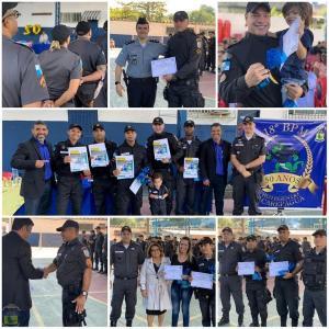 Policiais do 18° BPM recebem homenagem pela excelente prestação de serviço feita a sociedade!